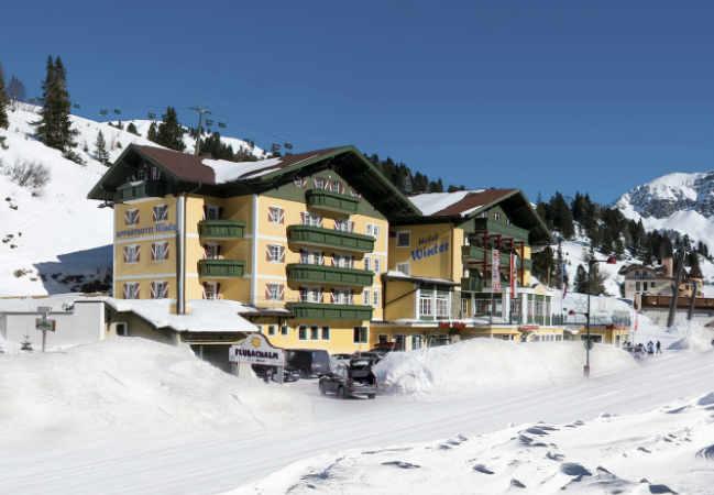 Hotel Obertauern Winter Aussen