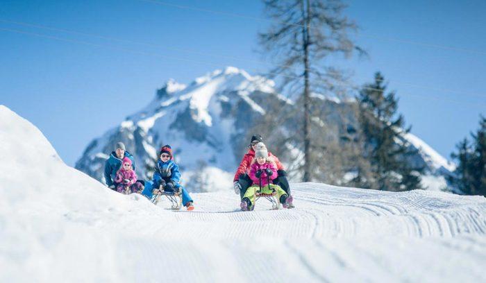 Rodeln - Winterurlaub in Obertauern, Salzburger Land