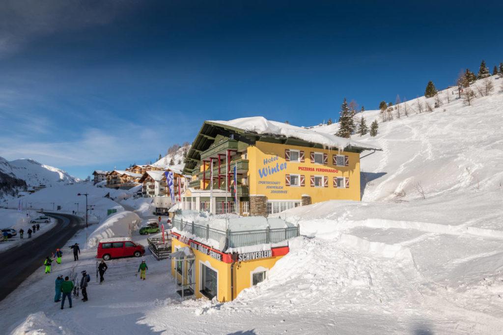 Toplage · Hotel Winter in Obertauern